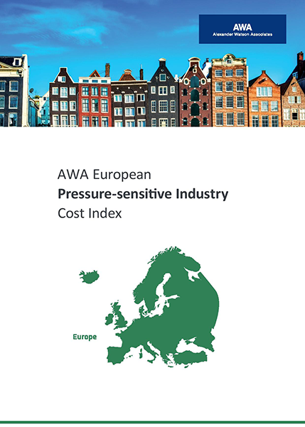 AWA European Pressure Sensitive Industry Cost Index